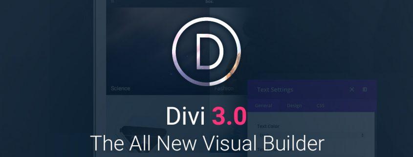 Divi Builder 3.0